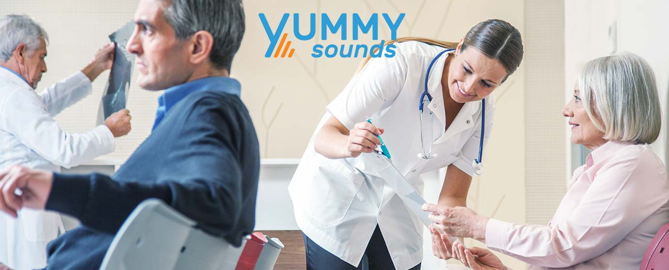 Overhead Music for Medical Offices full yummy sounds