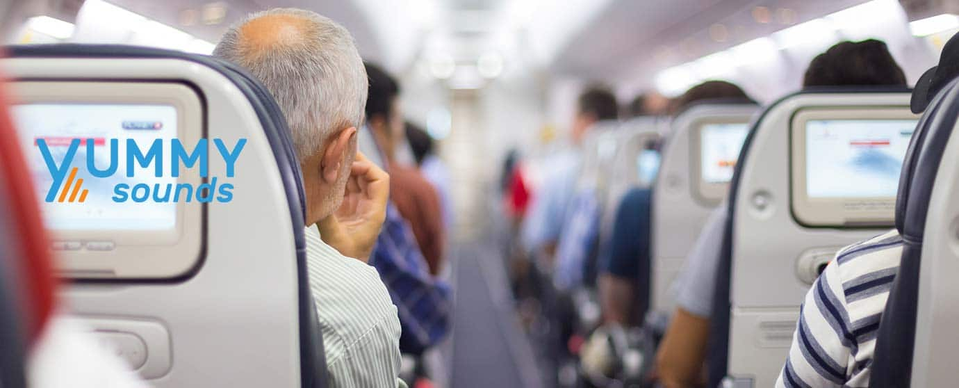 inflight safety video music